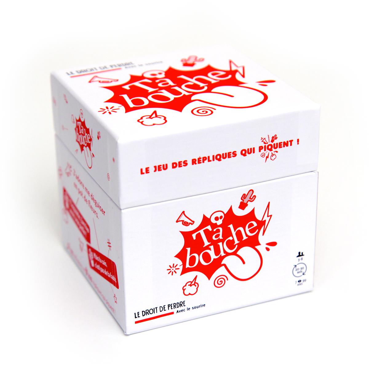 """Packaging de la box """"Tabouche"""""""