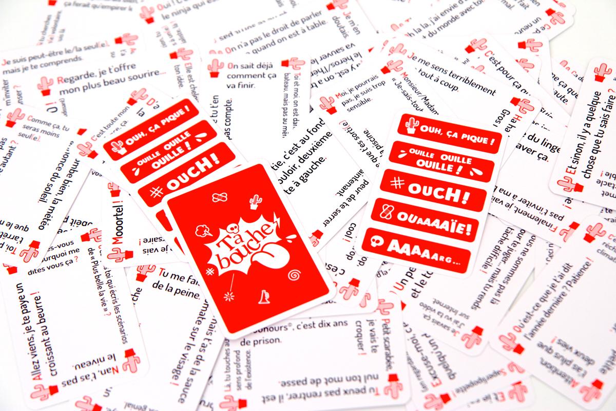 """Les cartes compteur du jeu """"Tabouche"""""""