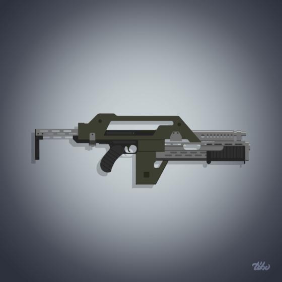 Alien weapon