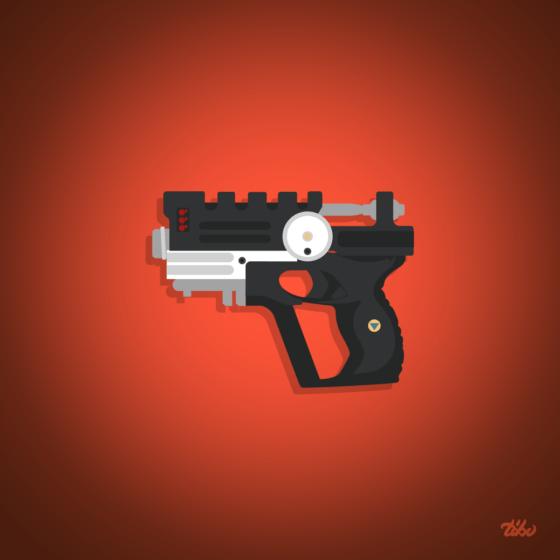 cinquieme element gun