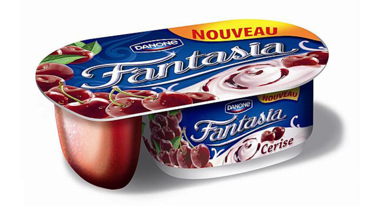 "Packaging ""Fantasia"" de Danone"