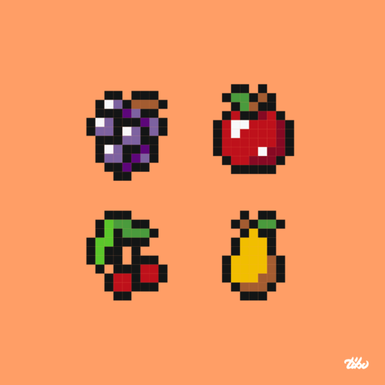 "Collection ""fruits"""