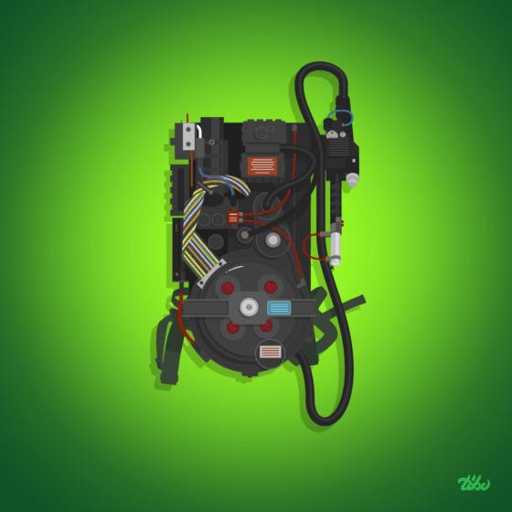 gohstbuster weapon