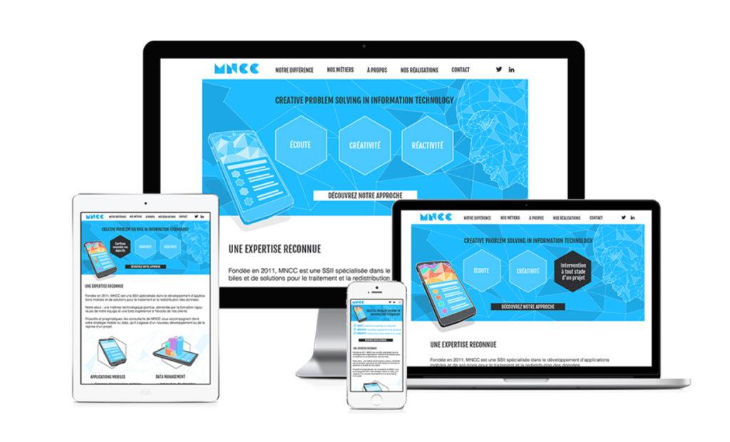MNCC, Design web responsive