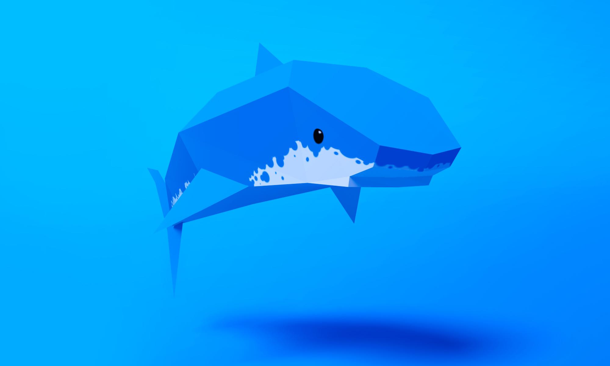 """3d """"Shark"""""""
