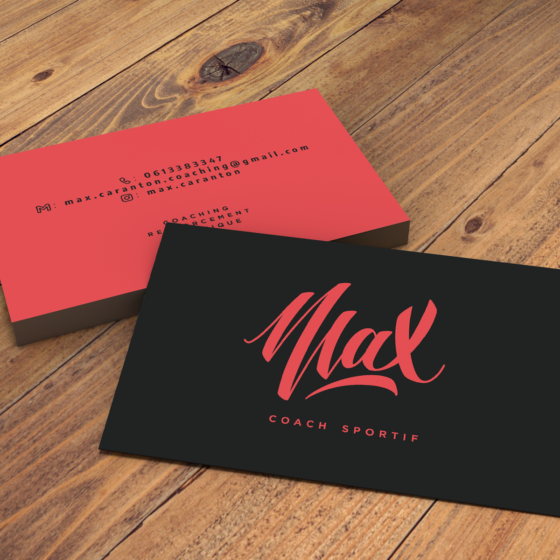 "Création de logotype ""Max"""