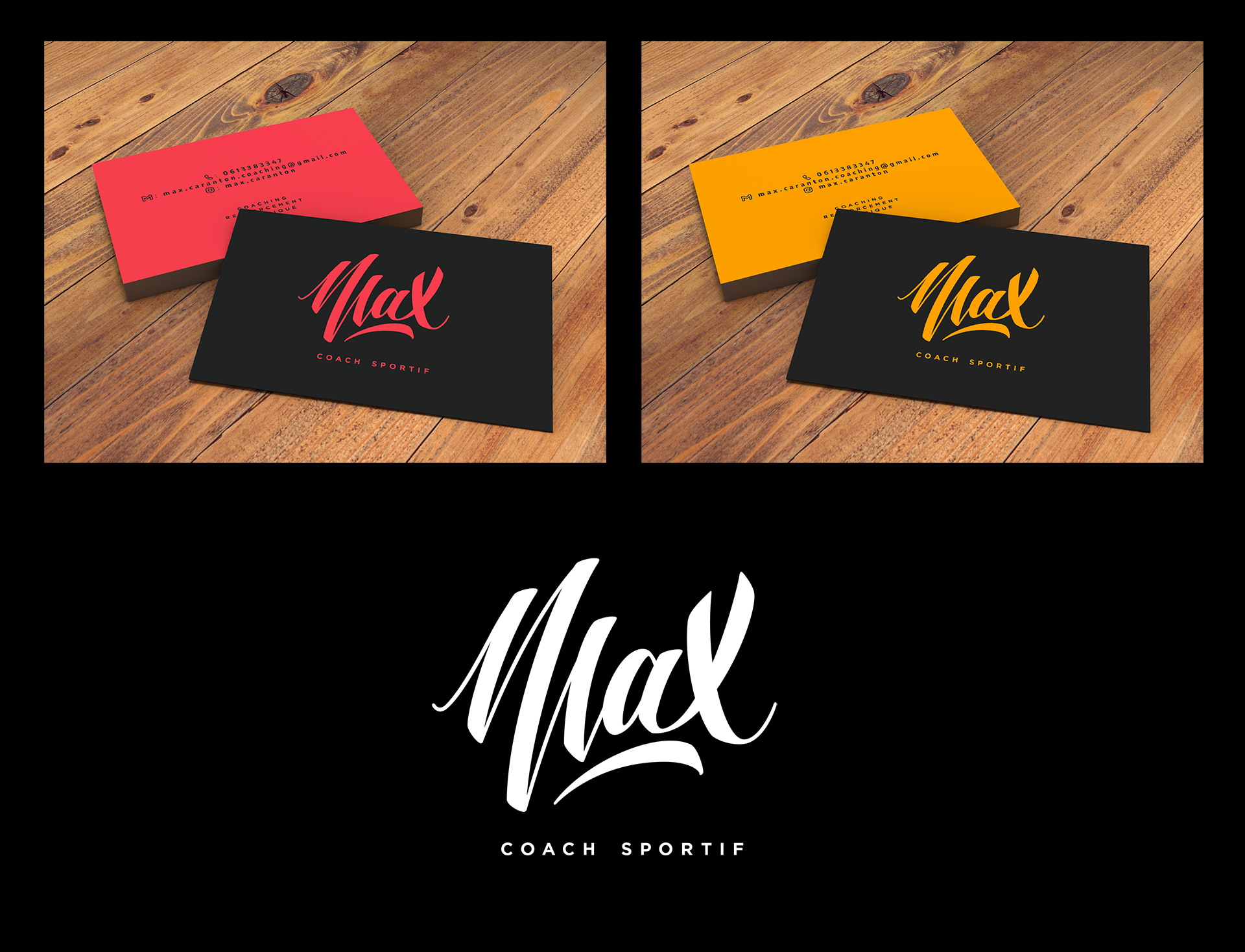 Finalisation du logo Max