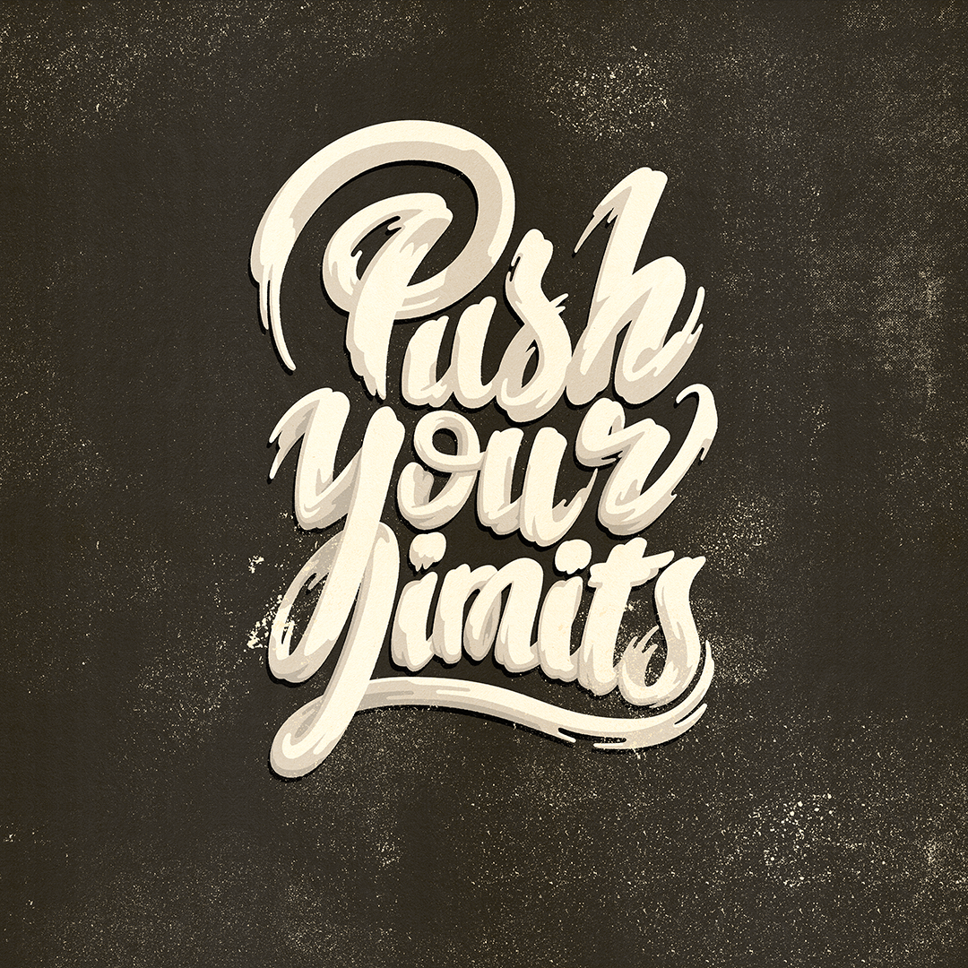 Push your limits BW
