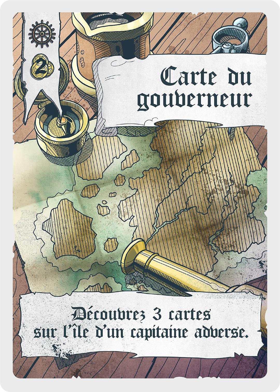 Carte du gouverneur