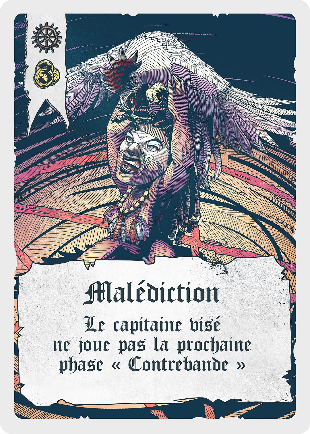 Carte Malédiction
